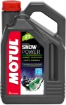 Масло Motul SnowPower 2T FL Technosynt 4л
