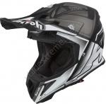 Кроссовый Шлем Airoh Aviator 2.2 CHECK White Matt