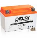 DELTA CT 1207 12V 7AH Стартерный Герметичный Свинцово Кислотный Аккумулятор Для Мототехники