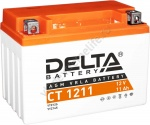 DELTA CT 1211 12V 11AH Стартерный Герметичный Свинцово Кислотный Аккумулятор Для Мототехники