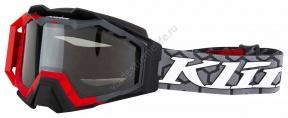 3902-000-000-012 Очки KLIM Viper Snow Goggle Deviate Vivid Blue Clear