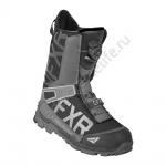 FXR Ботинки Helium Lite BOA Black/Char