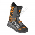FXR Ботинки Helium Lite BOA Hi-Vis/Black/Orange