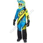 FXR Детский Комбинезон утепленный CX Blue/Hi-Vis/Black