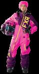 FXR Женский Комбинезон легкий  Ranger Instinct Wineberry/Electric Pink/Hi-Vis