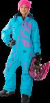 FXR Женский Комбинезон легкий Ranger Instinct Aqua/Electric Pink