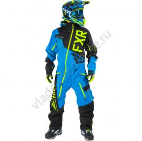 FXR Комбинезон легкий Ranger Instinct Blk/Blue/Hi-Vis (XL)
