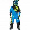 FXR Комбинезон утепленный Ranger Instinct Blk/Blue/Hi-Vis