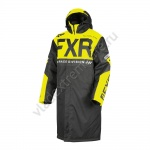 FXR Пальто Warm Up Black/Hi-Vis