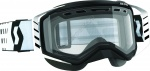 SCOTT Очки Prospect Snow Cross Black/White Clear Lens