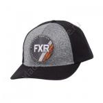 Бейсболка FXR Ride Co унисекс Black/Orange OS 201641-1030