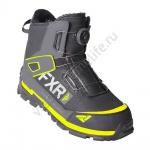 Ботинки FXR Helium Outdoor BOA Black/Char/Hi Vis
