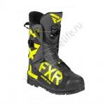 Ботинки FXR Helium Pro с утеплителем унисекс Black/Char/Hi Vis 200703-1065