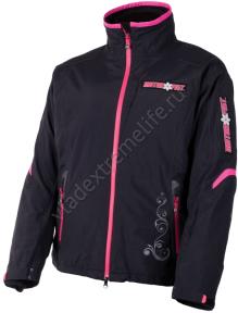 Куртка MOTORFIST Wm Empress 12 (Женский, L, Черно-фуксия)