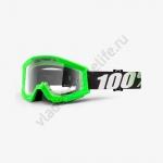 Очки для мотокросса 100% Strata Arkon с прозрачной линзой