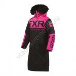 Пальто FXR Warm Up с утеплителем женское Black/Elec Pink 200230-1094