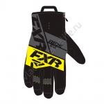 Перчатки FXR Fuel с утеплителем Black/Char/Hi-Vis 190805-1065