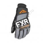 Перчатки FXR Transfer Pro-Tec Black Char Grey Org 200834-1030