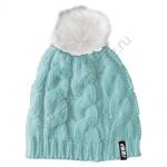 Шапка 509 Fur Pom Teal Женская С Помпоном F09001800-251