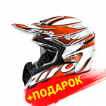 Шлем Airoh CR901 Linear Orange