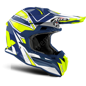 Шлем Airoh Terminator Open Vision Shock Blue Gloss