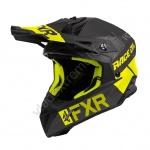Шлем FXR Helium Carbon Race Div Black/Hi-Vis 200603-1065