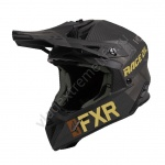Шлем FXR Helium Carbon Race Div Black/Rust/Gold 200603-1037