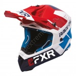 Шлем FXR Helium Race Div Red/White/Navy/Blue 200612-2001