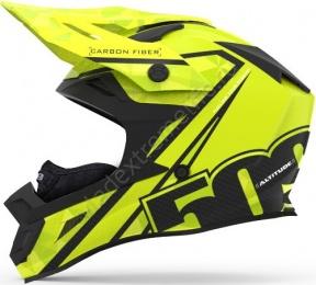 Шлем Карбоновый 509 Altitude Carbon Hi-Vis С Застежкой Fidlock  (S)