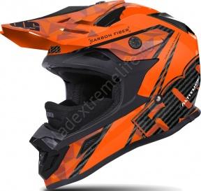 Шлем Карбоновый 509 Altitude Carbon Orange С Застежкой Fidlock