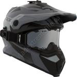 Шлем снегоходный CKX TITAN ABYSS, Серый мат
