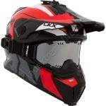Шлем снегоходный CKX TITAN ALTITUDE, Красно-Белый
