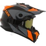 Шлем снегоходный CKX TITAN SIDEHILL, оранжевый