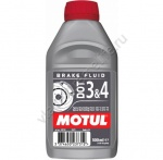 102718 Motul Тормозная Жидкость DOT 3 & 4 Brake Fluid 0,5л
