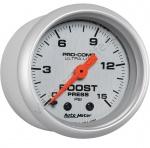 4302 AUTO METER Boost Gauge Механический Датчик Давления Наддува