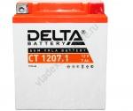DELTA CT 1207.1 12V 7AH Стартерный Герметичный Свинцово Кислотный Аккумулятор Для Мототехники