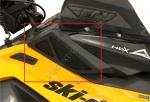 SKINZ Rasmussen Защитные Сетки Впуска Воздуха Для Ski-Doo REV-XM