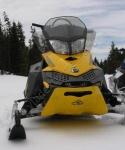 SKINZ Облегченная Защита Днища Для Ski-Doo REV-XP