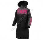 Пальто FXR Warm Up с утеплителем женское Black/Char/Fuchsia 200230-1008