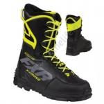 Ботинки FXR X-Cross Pro с утеплителем унисекс Black/Hi-Vis 200700-1065