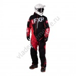 Комбинезон FXR Ranger Instinct с утеплителем Black/Red/Lt Grey 202823-1020