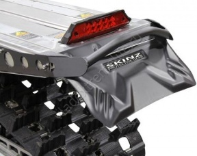 SF400 SKINZ Брызговик Сверхгибкий Горный Короткий  (Черный)