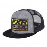 Бейсболка FXR Race Division унисекс Grey Heather/Orange OS 201642-0730
